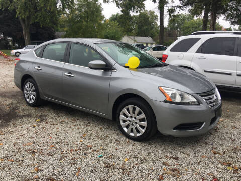 2014 Nissan Sentra for sale at Antique Motors in Plymouth IN