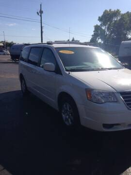 2008 Chrysler Town and Country for sale at KLEIN MOTORS & RV's in Saint Joseph MO