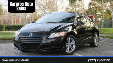 2012 Honda CR-Z for sale at Carpros Auto Sales in Largo FL
