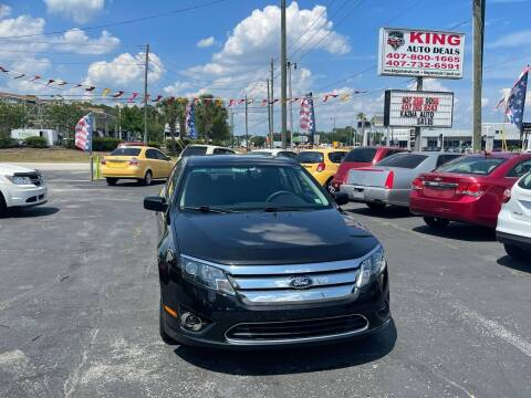 2010 Ford Fusion for sale at King Auto Deals in Longwood FL