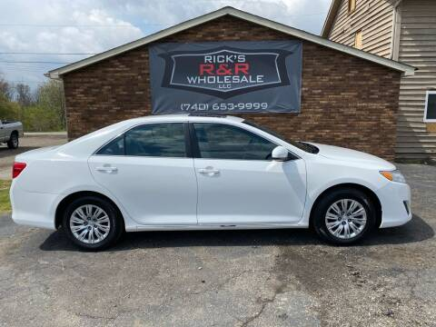 2012 Toyota Camry for sale at Rick's R & R Wholesale, LLC in Lancaster OH