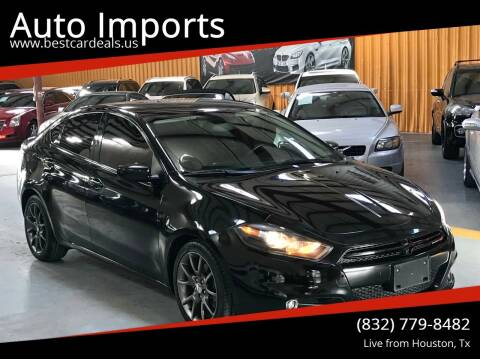 2013 Dodge Dart for sale at Auto Imports in Houston TX
