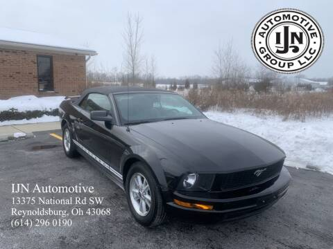 2006 Ford Mustang for sale at IJN Automotive Group LLC in Reynoldsburg OH