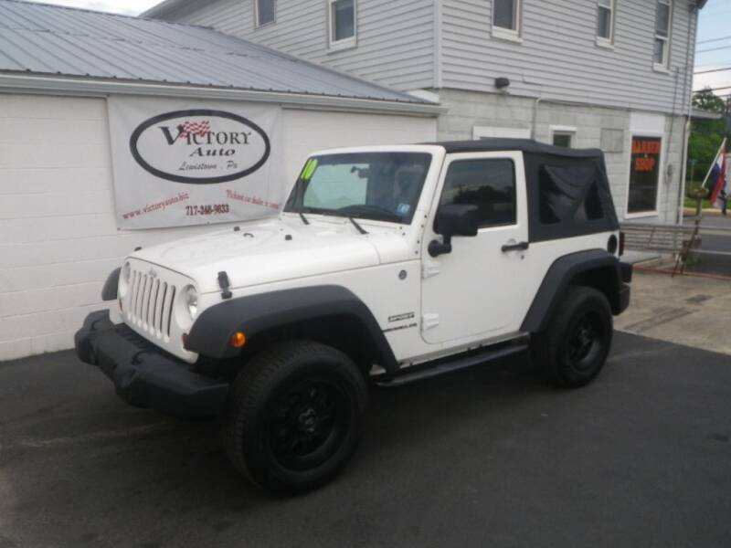 2010 Jeep Wrangler for sale at VICTORY AUTO in Lewistown PA