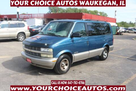 2001 Chevrolet Astro for sale at Your Choice Autos - Waukegan in Waukegan IL