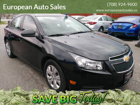 2016 Chevrolet Cruze Limited for sale at European Auto Sales in Bridgeview IL