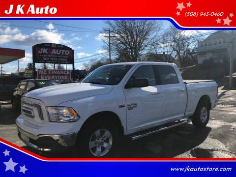 2019 RAM Ram Pickup 1500 Classic for sale at Webster Auto Sales in Webster MA