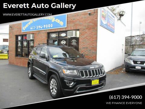 2014 Jeep Grand Cherokee for sale at Everett Auto Gallery in Everett MA