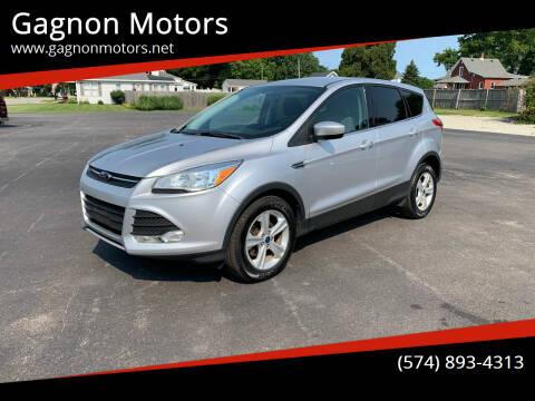 2014 Ford Escape for sale at Gagnon  Motors - Gagnon Motors in Akron IN