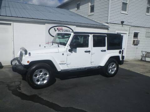 2015 Jeep Wrangler Unlimited for sale at VICTORY AUTO in Lewistown PA