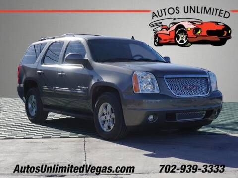 2007 GMC Yukon for sale at Autos Unlimited in Las Vegas NV