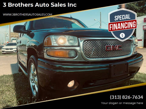 2004 GMC Yukon for sale at 3 Brothers Auto Sales Inc in Detroit MI