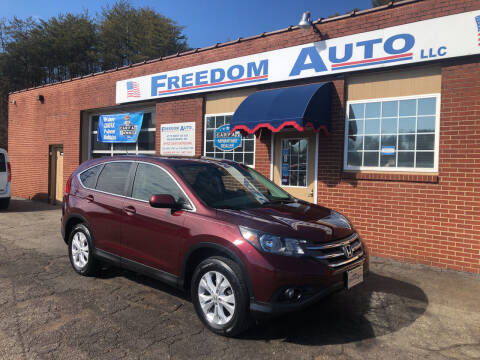 2014 Honda CR-V for sale at FREEDOM AUTO LLC in Wilkesboro NC