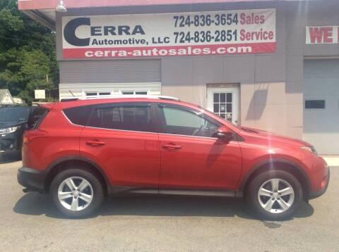 2014 Toyota RAV4 for sale at Cerra Automotive LLC in Greensburg PA