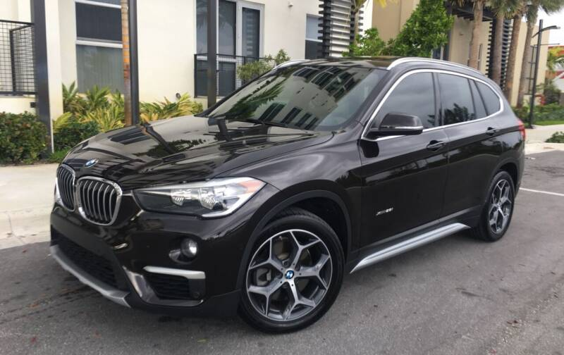 2016 BMW X1 for sale at FIRST FLORIDA MOTOR SPORTS in Pompano Beach FL