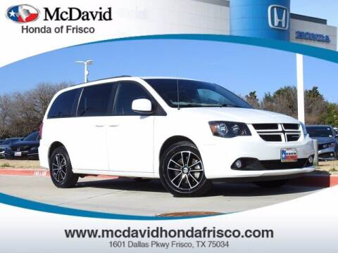 2018 Dodge Grand Caravan for sale at DAVID McDAVID HONDA OF IRVING in Irving TX