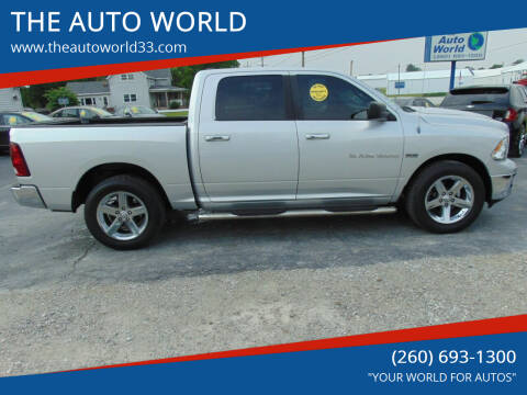 2012 RAM Ram Pickup 1500 for sale at THE AUTO WORLD in Churubusco IN