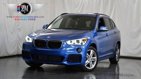2017 BMW X1 for sale at ZONE MOTORS in Addison IL
