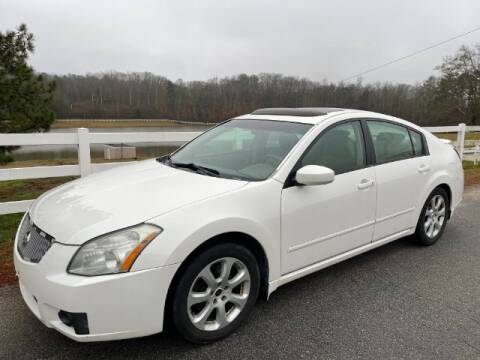 2008 Nissan Maxima for sale at Cross Automotive in Carrollton GA