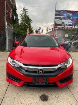 2016 Honda Civic for sale at Simon Auto Group in Newark NJ