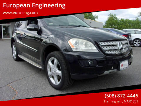 2008 Mercedes-Benz M-Class for sale at European Engineering in Framingham MA