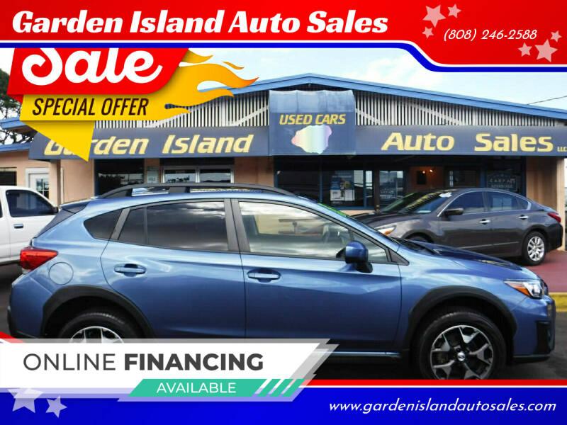 2018 Subaru Crosstrek for sale at Garden Island Auto Sales in Lihue HI