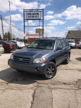 2007 Toyota Highlander for sale at Royal Auto Inc. in Columbus OH