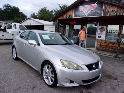 2007 Lexus IS 250 for sale at LEE AUTO SALES in McAlester OK