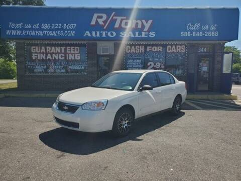 2006 Chevrolet Malibu for sale at R Tony Auto Sales in Clinton Township MI