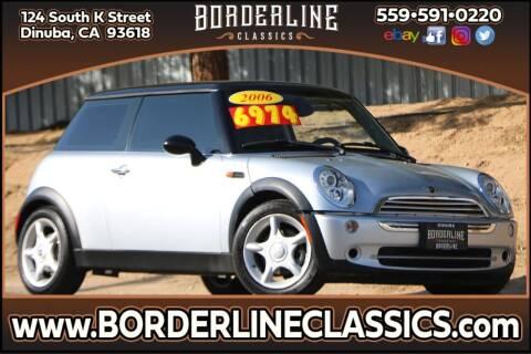 2006 MINI Cooper for sale at Borderline Classics in Dinuba CA