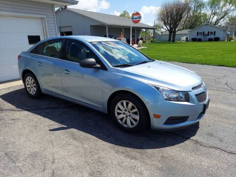 2011 Chevrolet Cruze for sale at CALDERONE CAR & TRUCK in Whiteland IN