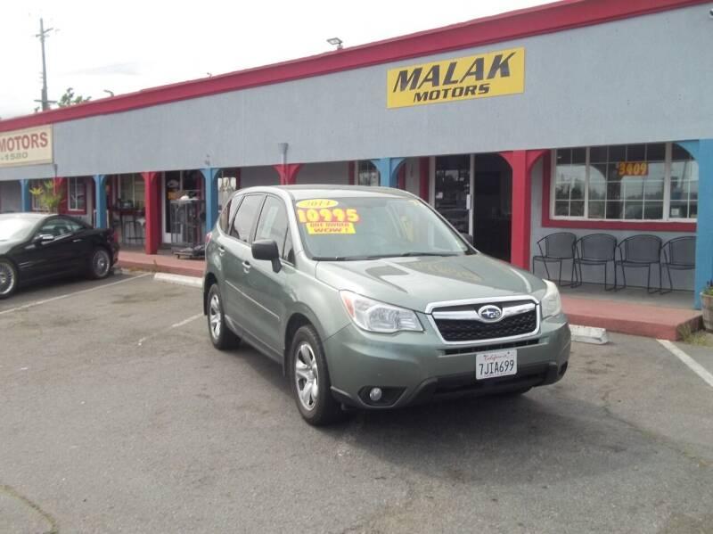 2014 Subaru Forester for sale at Atayas Motors INC #1 in Sacramento CA