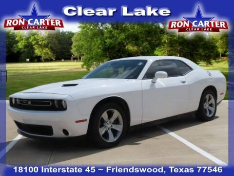 2018 Dodge Challenger for sale at Ron Carter  Clear Lake Used Cars in Houston TX