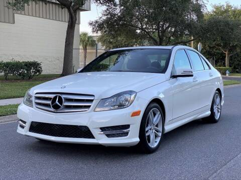 2013 Mercedes-Benz C-Class for sale at Presidents Cars LLC in Orlando FL