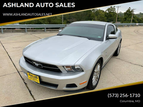 2012 Ford Mustang for sale at ASHLAND AUTO SALES in Columbia MO
