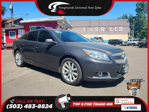 2013 Chevrolet Malibu for sale at Universal Auto Sales in Salem OR