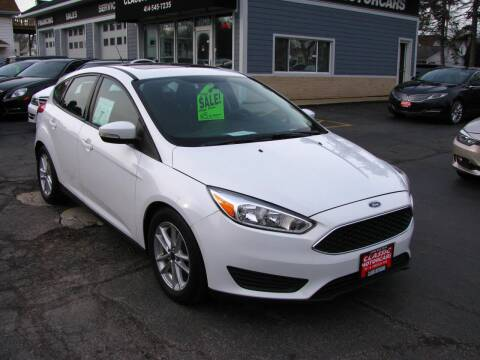 2016 Ford Focus for sale at CLASSIC MOTOR CARS in West Allis WI