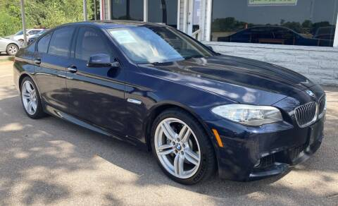 2013 BMW 5 Series for sale at USA AUTO CENTER in Austin TX