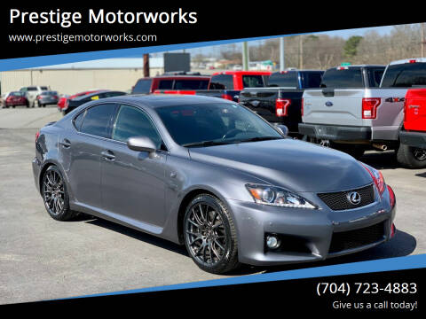 2012 Lexus IS F for sale at Prestige Motorworks in Concord NC