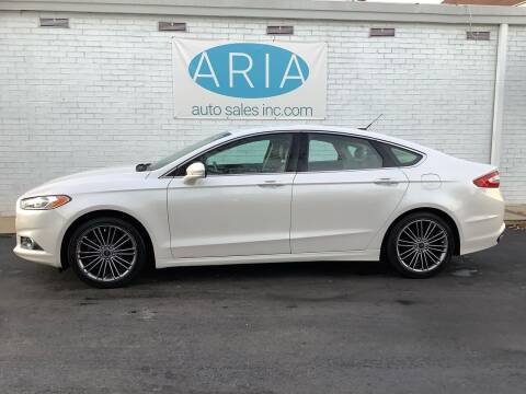 2013 Ford Fusion for sale at ARIA  AUTO  SALES in Raleigh NC