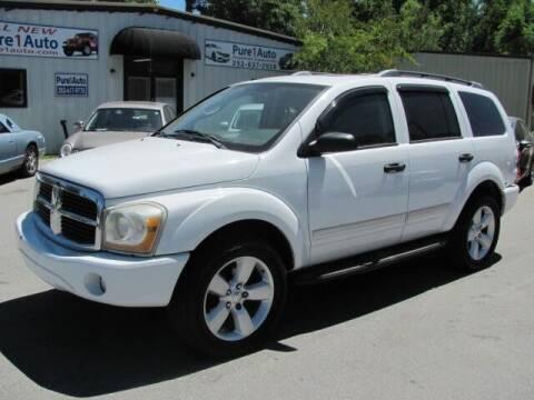 2005 Dodge Durango for sale at Pure 1 Auto in New Bern NC