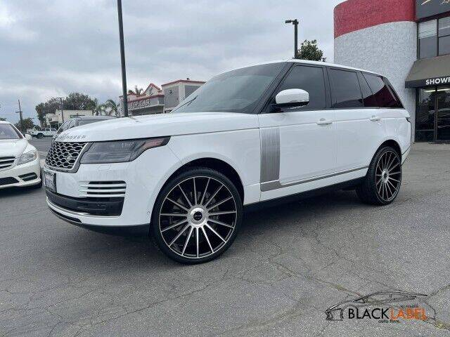 2018 Land Rover Range Rover for sale at BLACK LABEL AUTO FIRM in Riverside CA