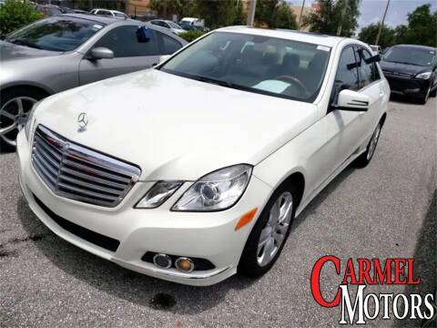 2011 Mercedes-Benz E-Class for sale at Carmel Motors in Indianapolis IN