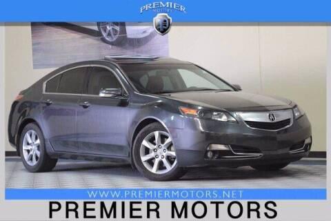 2012 Acura TL for sale at Premier Motors in Hayward CA