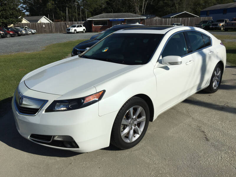 2013 Acura TL for sale at LAURINBURG AUTO SALES in Laurinburg NC