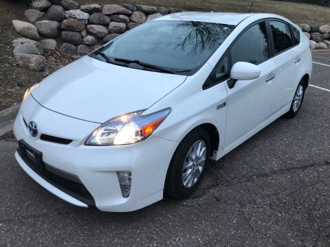 2014 Toyota Prius Plug-in Hybrid for sale at MOTORS 88 in New Brighton MN