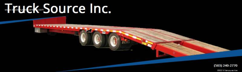 2021 Raja Tag Rear Loader Step Deck for sale at Truck Source Inc. in Portland OR