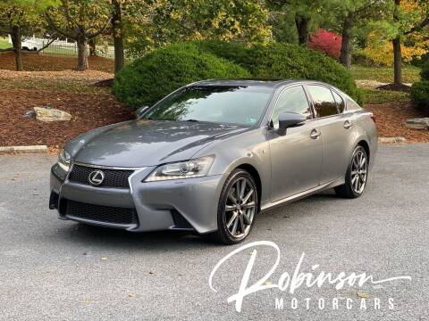 2015 Lexus GS 350 for sale at Robinson Motorcars in Hedgesville WV