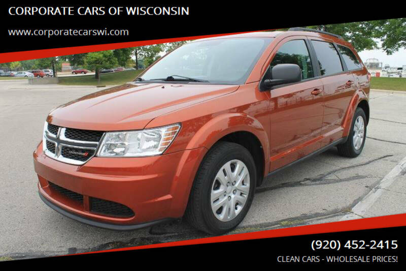 2014 Dodge Journey for sale at CORPORATE CARS OF WISCONSIN in Sheboygan WI