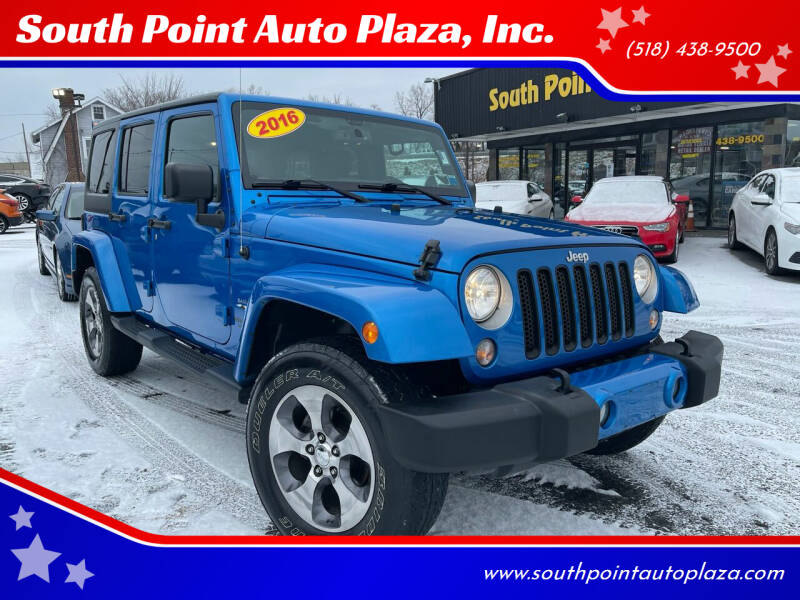 2016 Jeep Wrangler Unlimited for sale at South Point Auto Plaza, Inc. in Albany NY